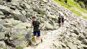 Reco Marathon du Mont-Blanc J2 · Alpes, Aiguilles Rouges, Vallée de Chamonix, FR · GPS 45°57'33.06'' N 6°52'41.77'' E · Altitude 1839m