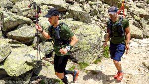 Reco Marathon du Mont-Blanc J2 · Alpes, Aiguilles Rouges, Vallée de Chamonix, FR · GPS 45°57'32.87'' N 6°52'41.28'' E · Altitude 1840m