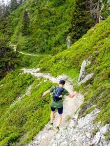 Reco Marathon du Mont-Blanc J2 · Alpes, Aiguilles Rouges, Vallée de Chamonix, FR · GPS 45°57'16.18'' N 6°52'22.76'' E · Altitude 1840m