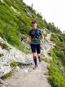 Reco Marathon du Mont-Blanc J2 · Alpes, Aiguilles Rouges, Vallée de Chamonix, FR · GPS 45°57'15.60'' N 6°52'21.83'' E · Altitude 1836m