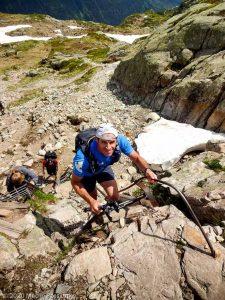 WE Choc Soutenu J1 · Alpes, Aiguilles Rouges, Vallée de Chamonix, FR · GPS 45°58'55.49'' N 6°53'43.71'' E · Altitude 2199m
