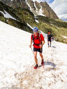 WE Choc Soutenu J1 · Alpes, Aiguilles Rouges, Vallée de Chamonix, FR · GPS 45°58'53.54'' N 6°53'35.42'' E · Altitude 2268m