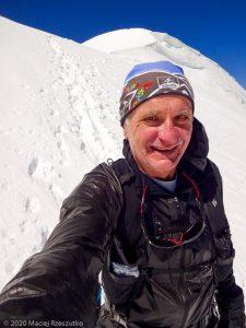 Bishorn 4153m · Alpes, Alpes centrales, Vallée d'Anniviers, CH · GPS 46°7'4.60'' N 7°42'57.54'' E · Altitude 4153m
