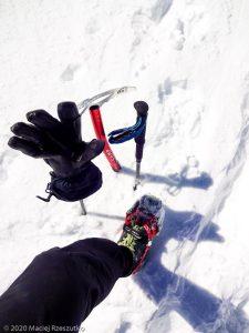 Bishorn 4153m · Alpes, Alpes centrales, Vallée d'Anniviers, CH · GPS 46°7'4.63'' N 7°42'57.48'' E · Altitude 4153m