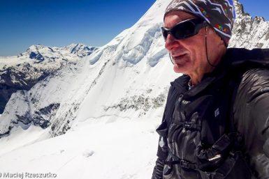 Bishorn 4153m · Alpes, Alpes centrales, Vallée d'Anniviers, CH · GPS 46°7'4.06'' N 7°42'55.89'' E · Altitude 4153m