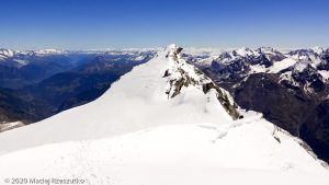 Bishorn 4153m · Alpes, Alpes centrales, Vallée d'Anniviers, CH · GPS 46°7'4.09'' N 7°42'55.93'' E · Altitude 4153m