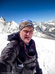 Bishorn 4153m · Alpes, Alpes centrales, Vallée d'Anniviers, CH · GPS 46°7'4.41'' N 7°42'53.63'' E · Altitude 4153m