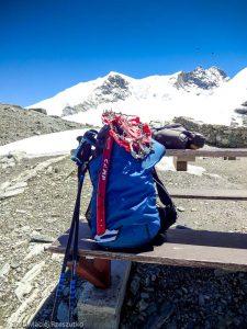 Bishorn 4153m · Alpes, Alpes centrales, Vallée d'Anniviers, CH · GPS 46°7'48.48'' N 7°40'47.14'' E · Altitude 3200m