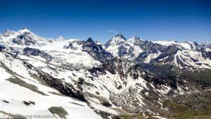 Bishorn 4153m · Alpes, Alpes centrales, Vallée d'Anniviers, CH · GPS 46°7'49.01'' N 7°40'46.75'' E · Altitude 3201m
