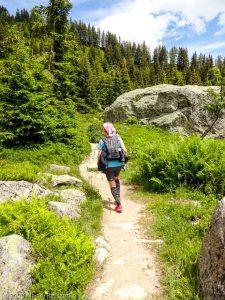 Stage Trail Découverte J1 · Alpes, Aiguilles Rouges, Vallée de Chamonix, FR · GPS 45°57'2.16'' N 6°52'8.67'' E · Altitude 1808m
