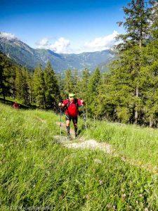Stage Trail Découverte J2 · Alpes, Massif du Mont-Blanc, Vallée d'Anniviers, FR · GPS 45°55'6.92'' N 6°53'18.87'' E · Altitude 1655m