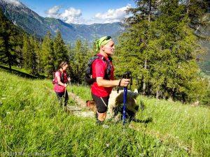 Stage Trail Découverte J2 · Alpes, Massif du Mont-Blanc, Vallée d'Anniviers, FR · GPS 45°55'6.88'' N 6°53'18.95'' E · Altitude 1655m