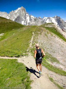 CCC en off · Alpes, Massif du Mont-Blanc, CCC, IT · GPS 45°49'26.40'' N 7°0'59.89'' E · Altitude 2458m