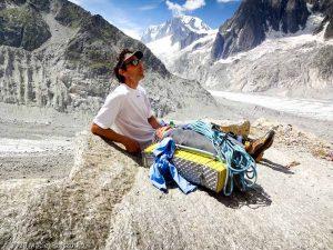 Dans la montée au Refuge du Couvercle · Alpes, Massif du Mont-Blanc, FR · GPS 45°54'11.03'' N 6°57'23.46'' E · Altitude 2142m