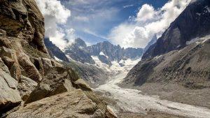 Dans la montée au Refuge du Couvercle · Alpes, Massif du Mont-Blanc, FR · GPS 45°54'11.11'' N 6°57'23.43'' E · Altitude 2142m