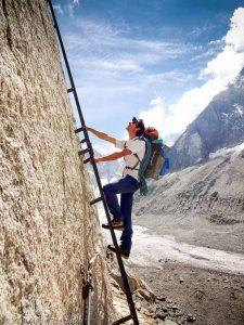 Dans la montée au Refuge du Couvercle · Alpes, Massif du Mont-Blanc, FR · GPS 45°54'11.86'' N 6°57'23.18'' E · Altitude 2154m