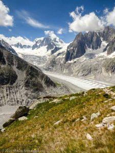 Dans la montée au Refuge du Couvercle · Alpes, Massif du Mont-Blanc, FR · GPS 45°54'15.23'' N 6°57'36.05'' E · Altitude 2400m