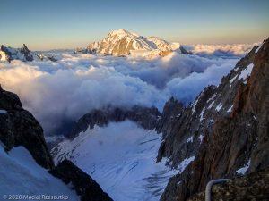 Escalade de l'Aiguille du Jardin · Alpes, Massif du Mont-Blanc, FR · GPS 45°55'58.97'' N 6°58'39.76'' E · Altitude 3837m
