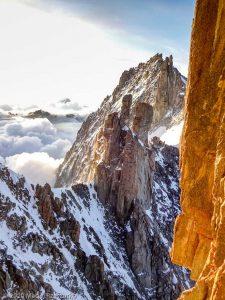 Escalade de l'Aiguille du Jardin · Alpes, Massif du Mont-Blanc, FR · GPS 45°55'59.00'' N 6°58'39.76'' E · Altitude 3837m