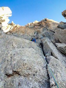 Escalade de l'Aiguille du Jardin · Alpes, Massif du Mont-Blanc, FR · GPS 45°56'0.06'' N 6°58'39.86'' E · Altitude 3843m
