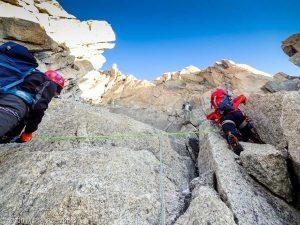 Escalade de l'Aiguille du Jardin · Alpes, Massif du Mont-Blanc, FR · GPS 45°56'0.29'' N 6°58'39.64'' E · Altitude 3844m