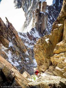 Escalade de l'Aiguille du Jardin · Alpes, Massif du Mont-Blanc, FR · GPS 45°55'59.88'' N 6°58'38.97'' E · Altitude 3894m