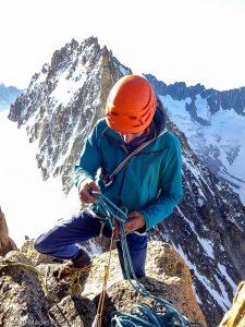 Escalade de l'Aiguille du Jardin · Alpes, Massif du Mont-Blanc, FR · GPS 45°56'0.54'' N 6°58'38.59'' E · Altitude 3918m