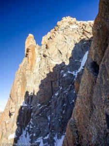 Escalade de l'Aiguille du Jardin · Alpes, Massif du Mont-Blanc, FR · GPS 45°56'0.52'' N 6°58'38.67'' E · Altitude 3918m