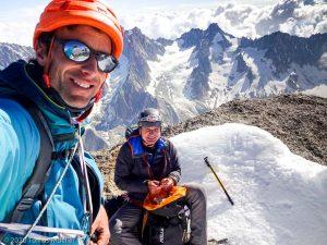 Aiguille du Jardin · Alpes, Massif du Mont-Blanc, FR · GPS 45°56'2.02'' N 6°58'33.54'' E · Altitude 4019m