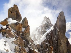 Col Armand Charlet · Alpes, Massif du Mont-Blanc, FR · GPS 45°56'5.04'' N 6°58'28.68'' E · Altitude 3990m