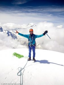Aiguille Varte · Alpes, Massif du Mont-Blanc, FR · GPS 45°56'4.56'' N 6°58'12.20'' E · Altitude 4122m
