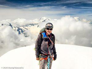 Aiguille Verte · Alpes, Massif du Mont-Blanc, FR · GPS 45°56'4.56'' N 6°58'12.18'' E · Altitude 4122m