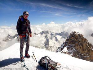 Aiguille Varte · Alpes, Massif du Mont-Blanc, FR · GPS 45°56'4.53'' N 6°58'12.26'' E · Altitude 4122m