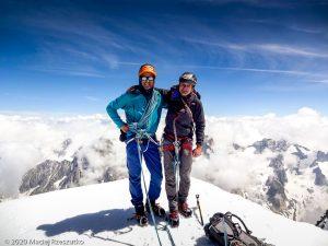 Aiguille Varte · Alpes, Massif du Mont-Blanc, FR · GPS 45°56'4.54'' N 6°58'12.27'' E · Altitude 4122m