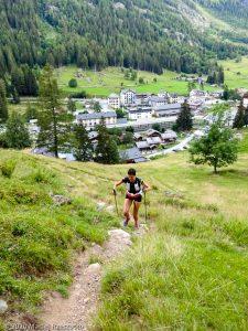 Reco du Marathon du Mont-Blanc · Alpes, Massif du Mont-Blanc, Vallée de Chamonix, FR · GPS 46°1'52.64'' N 6°56'2.22'' E · Altitude 1304m