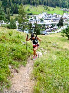 Reco du Marathon du Mont-Blanc · Alpes, Massif du Mont-Blanc, Vallée de Chamonix, FR · GPS 46°1'52.56'' N 6°56'2.34'' E · Altitude 1305m