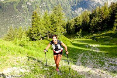 Reco du Marathon du Mont-Blanc · Alpes, Massif du Mont-Blanc, Vallée de Chamonix, FR · GPS 46°1'52.25'' N 6°56'53.45'' E · Altitude 1856m