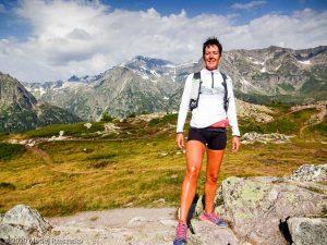 Reco du Marathon du Mont-Blanc · Alpes, Massif du Mont-Blanc, Vallée de Chamonix, FR · GPS 46°1'5.12'' N 6°56'24.77'' E · Altitude 2160m