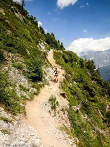 Reco du Marathon du Mont-Blanc · Alpes, Massif du Mont-Blanc, Vallée de Chamonix, FR · GPS 45°57'16.22'' N 6°52'22.88'' E · Altitude 1837m