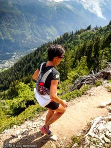 Reco du Marathon du Mont-Blanc · Alpes, Massif du Mont-Blanc, Vallée de Chamonix, FR · GPS 45°57'16.23'' N 6°52'22.81'' E · Altitude 1838m