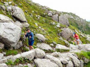 Stage Trail Découverte J2 · Alpes, Massif du Mont-Blanc, Vallée de Chamonix, FR · GPS 45°54'28.84'' N 6°53'34.09'' E · Altitude 2135m