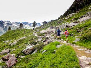 Stage Trail Découverte J2 · Alpes, Massif du Mont-Blanc, Vallée de Chamonix, FR · GPS 45°55'10.04'' N 6°54'18.49'' E · Altitude 2067m
