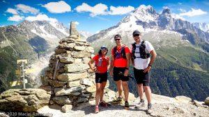 Stage Trail Découverte J3 · Alpes, Aiguilles Rouges, Vallée de Chamonix, FR · GPS 45°58'56.83'' N 6°54'23.41'' E · Altitude 2111m