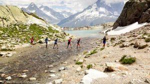 Stage Trail Initiation J3 · Alpes, Aiguilles Rouges, Vallée de Chamonix, FR · GPS 45°58'54.82'' N 6°53'24.21'' E · Altitude 2287m