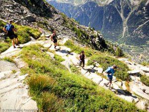 Stage Trail Initiation J1 · Alpes, Massif du Mont-Blanc, Vallée de Chamonix, FR · GPS 45°55'43.55'' N 6°54'45.76'' E · Altitude 2171m