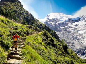 Stage Trail Initiation J2 · Alpes, Massif du Mont-Blanc, Vallée de Chamonix, FR · GPS 45°52'58.00'' N 6°51'11.00'' E · Altitude 2190m