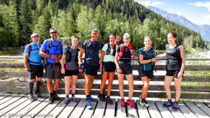 Stage Trail Découverte J1 · Alpes, Massif du Mont-Blanc, Vallée de Chamonix, FR · GPS 45°56'31.00'' N 6°54'9.12'' E · Altitude 1099m