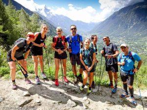 Stage Trail Découverte J1 · Alpes, Massif du Mont-Blanc, Vallée de Chamonix, FR · GPS 45°56'55.14'' N 6°54'56.66'' E · Altitude 1458m