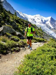Stage Trail Découverte J2 · Alpes, Massif du Mont-Blanc, Vallée de Chamonix, FR · GPS 45°54'18.72'' N 6°52'51.05'' E · Altitude 2106m