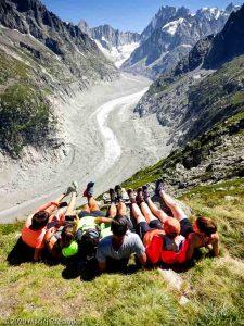 Stage Trail Découverte J2 · Alpes, Massif du Mont-Blanc, Vallée de Chamonix, FR · GPS 45°55'41.33'' N 6°54'48.22'' E · Altitude 2182m